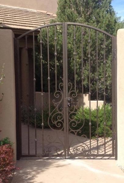 Double Tuscan style Court Yard gate & Designer Series \u2013 Gates | Action Security Iron