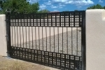 Craftsman design single gate