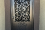 Custom Iron entry gate, Tuscan style.