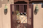 Custom geometric gate