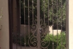 Double Tuscan style Court Yard gate