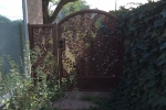 Vine & Leaf Iron gate.