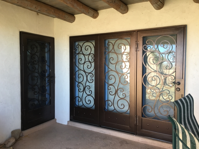 tuscan series triple modena - Unique Home Designs Security Door