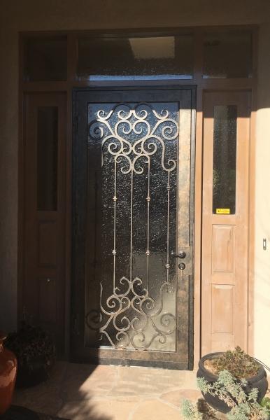 Tuscan series iron door Altiman & Security Doors | Action Security Iron