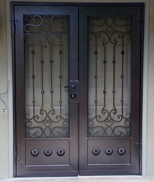 Designer Security Doors Action Security Iron