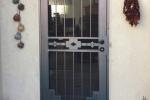 Artisan Series Security Door, Santa Fe in Navajo Copper
