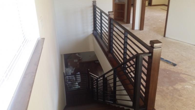 iron railing downtown wood interior fabricator stair railings design metal bend kits stairs designing and ornamental