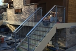 Custom Steel Handrail.