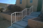 FLW style stair railing.