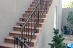 Spanish style railing