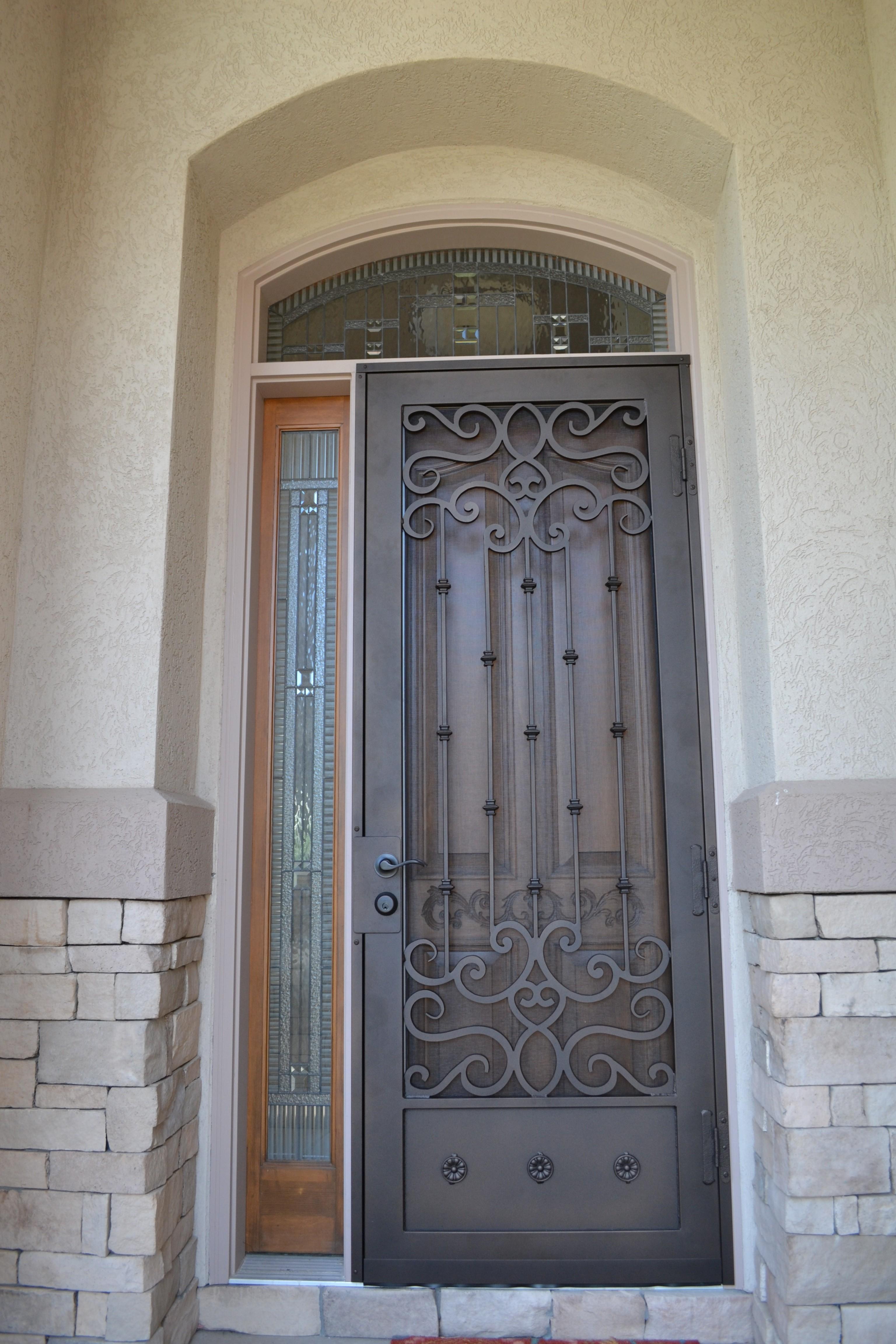 Security Doors Action Security Iron